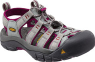 Women's Keen Newport H2 Neutral Gray/Beet Red Sandal