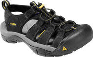 Men's Keen Newport H2 Black Sandal