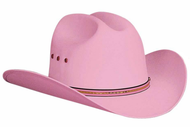 "Bullhide ""Buddy (Pink)"" Kid's Straw Hat"