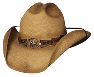 "Bullhide ""Star Central"" Straw Hat"