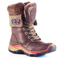 Women's Pajar Alice Dark Brown Winter Boot