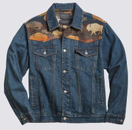 Pendleton Land of the Buffalo Jean Jacket