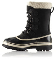 Women's Sorel Caribou Black Winter Boot