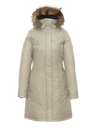 Women's Quartz Co. Kimberly Latte Coat