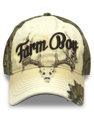 Farm Boy Rackaholic Mossy Oak Cap