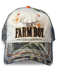 Farm Boy Hunting and Fishing Tweed Cap