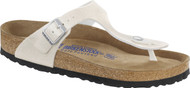 Birkenstock Gizeh Magic Galaxy White Soft Footbed