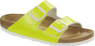 Birkenstock Arizona Neon Yellow Patent