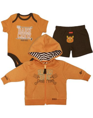Farm Boy Newborn Barn Crew 3 Piece Set