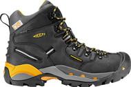 Keen Utility Men's Hamilton Black/Yellow Safety Boot