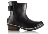 Women's Sorel Slimboot Pull On Leather Boot