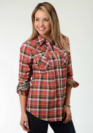 Women's Roper Mohave Plaid Longsleeve Shirt