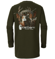 Men's Carhartt Photoreal Deer Pocket Longsleeve