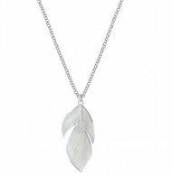 Montana Silversmiths Floating Feather Necklace