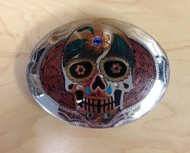 Johnson & Held Dia de Los Muertos Bloodwood Buckle