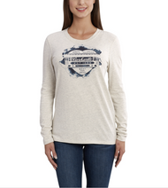 "Women's Carhartt Lockhart Graphic ""Rail Car Heart"" Long Sleeve T-Shirt"
