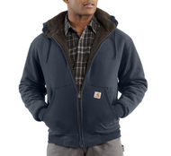 Men's Carhartt Collinston Brushed Fleece Sherpa-Lined Sweatshirt