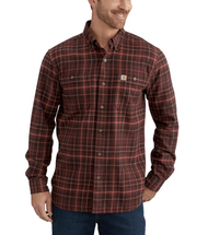 Men's Carhartt Trumbull Plaid Flannel Shirt