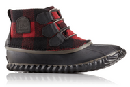 Women's Sorel Out 'N About Plaid Lace Up
