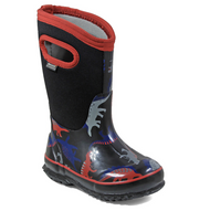 Kid's Bogs Classic Insulated Dino Black Multi Rated -34C