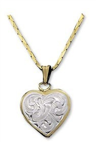 Montana Silversmiths Heart Necklace