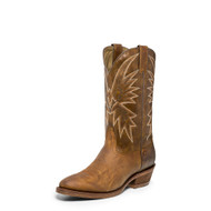 Men's Nocona Tan Vintage Caballo Medium Round toe Western Boot
