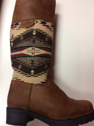Women's Paul Brodie  Pendleton Blanket Winter Boot With Zipper