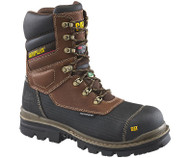 "Men's CAT Thermostatic Ice+ 8"" Waterproof Work Boot"