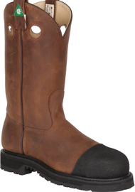 Men's Canada West Pull On CSA Safety Boot with Toe Bumper