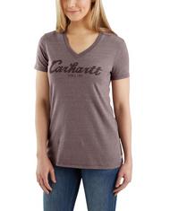 Women's Carhartt Lockhard Script Logo Graphic T-Shirt