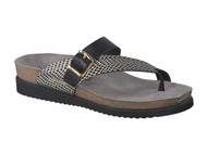 Women's Mephisto  Helen Black Mix Sandal