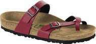 Birkenstock Mayari *Vegan* Pull-up Bordeaux