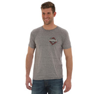 Men's Wrangler Grey Professional Bull Riders T-Shirt