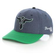 Wrangler Baseball Cap Blue/Green