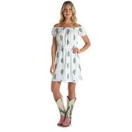 Wrangler White Cactus Dress