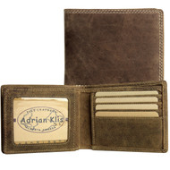Adrian Klis Brown Bifold Wallet 214