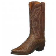 Men's Lucchese Franklin Tan Hornback  Western Boot