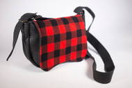 Hides and Hands Black Lumberjack Saddle Bag