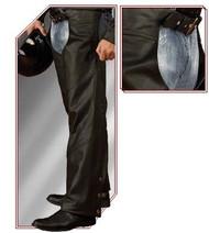 Men's Bristol Leather Chaps #3359