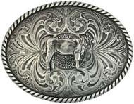 Montana Silversmiths Heifer Attitude Buckle