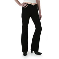 Wrangler Women's  Q-Baby Stretch Black Jeans: The Ultimate Riding Jean