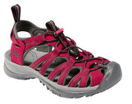 Women's Keen Whisper Beet Red Water Sandal