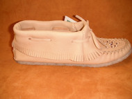 Women's Laurentian Chief Low Fringed Moccasin with Gum Sole