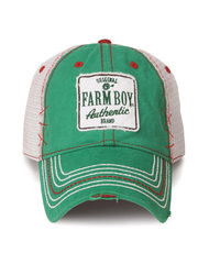 Farm Boy Authentic Green Mesh Cap