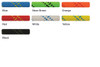 """Sterling 1/2"""" HTP Static Rope (Colors)"""