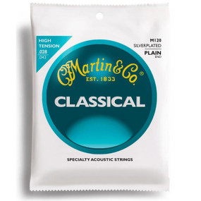 Martin M120 Silver-Plated Plain-End Classical Guitar Strings (M120)