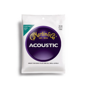Martin M130 Silk & Steel Acoustic Folk Guitar Strings