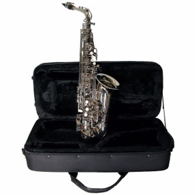 Mirage SX60ANI Student Eb Alto Saxophone with Case, Nickel (SX60ANI)