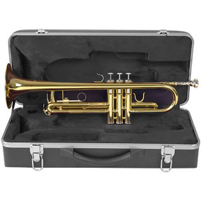 Palatino WI-815-TP Bb Trumpet with Case, B-Flat Trumpet