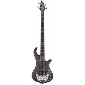 Traben TRAAA4BKB Array Attack Series 4-String Electric Bass Guitar (TRAAA4BKB)